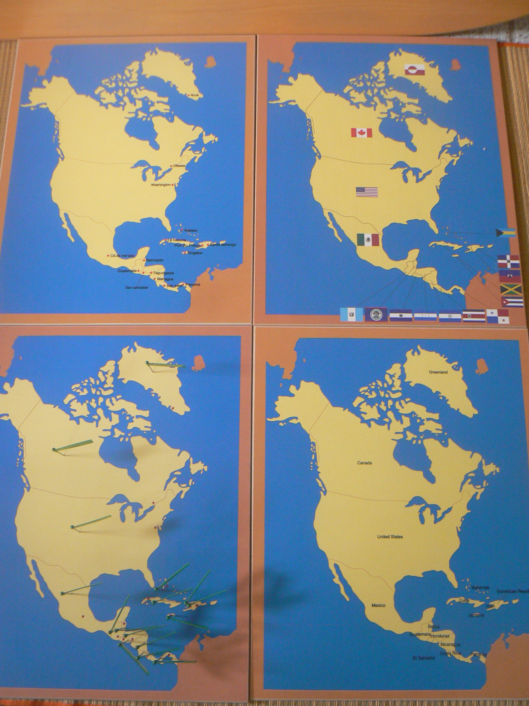 Pin maps geography this is what learning the countries capitals and national flags of the countries of the world looks like if you attend the montessori elementary gumiabroncs Images